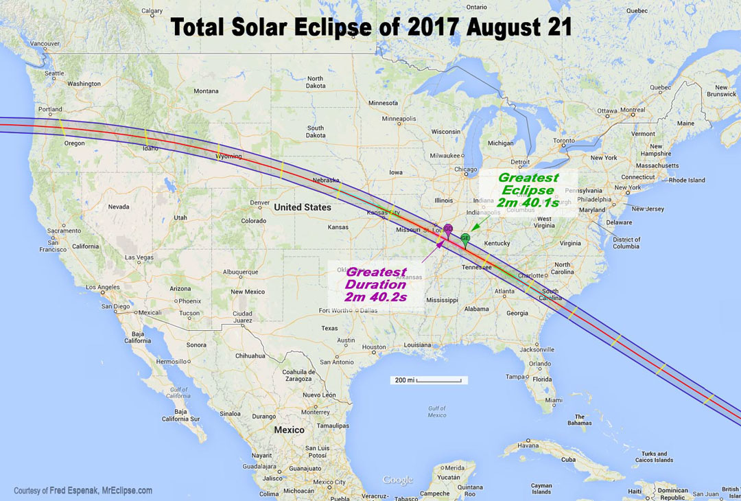 Total Solar Eclipse USA image